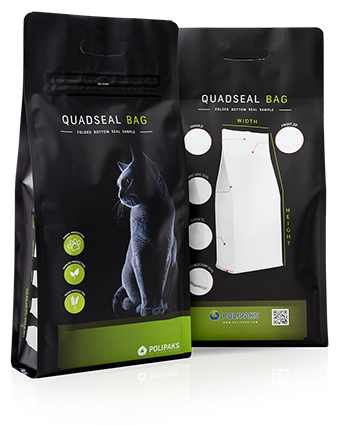 Quadseal bag