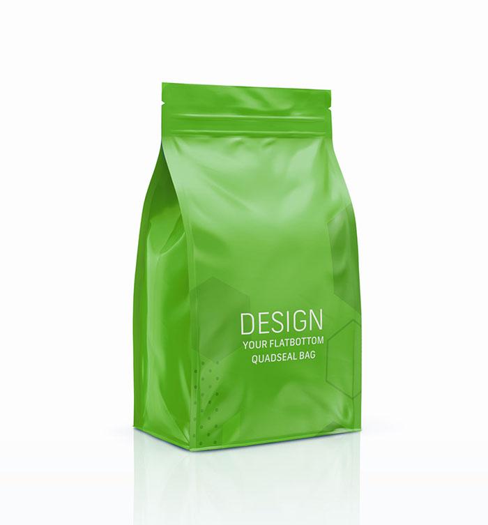 Quadseal bag